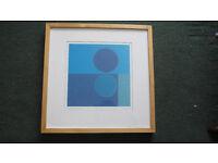 """Framed Print """"Midnight Moon"""" by Amaina"""