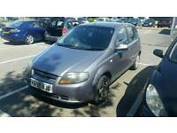 ++++QUICKSALE WANTED CHEVROLET KALOS 2008 PLATE++++STARTS AND DRIVES GOOD 1.4 PETROL+++