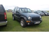 RARE MANUAL 2002 JEEP CHEROKEE 2.5 CRD SPORT DIESEL FULL MOT PX SWAP AUTOMATIC have £1000 to add