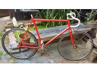 Bike fixie flip flop wheel