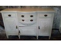 white oak sideboard