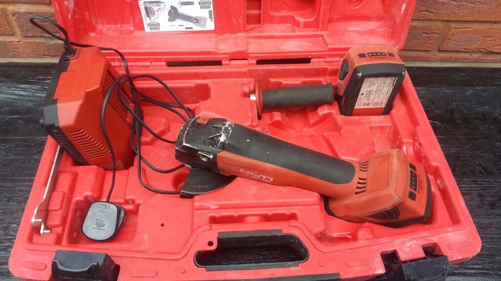 Hilti Ag 125 A22 Cordless Angle Grinder In Wednesbury West Midlands Gumtree