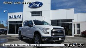 2017 Ford F-150 *NEW*0% 72 MONTHS!*SUPERCREW XLT*XTR*4X4 3.5L EC