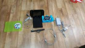 Nintendo Wii U console with game pad and extra controller