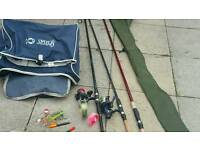 Fishing rod set