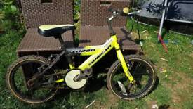 "Child's, kids Raleigh 16"" wheel bike up age 6"