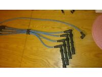 Ford sierra cosworth plug leads blue motorsport will fit all cosworths