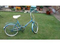Hercules compact folding bike