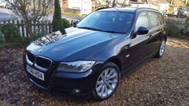 BMW 318d Touring Black