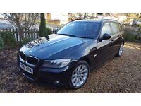 BMW 318d Touring Black