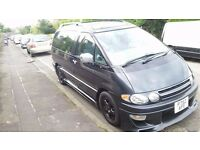 TOYOTA PREVIA 8 SEATER GREY DIESEL AUTOMATIC *EXCELLENT CONDITION*