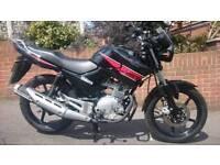 Yamaha YBR 125 2014 Only 1800 Miles Immaculate Bike