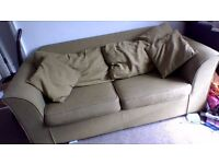 Green sofa bed - open to offers