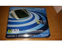 Linksys Wireless-N Broadband Router Ultra Range Plus