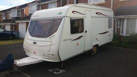 lunar 470 chateau 2007 with full awning and motor mover