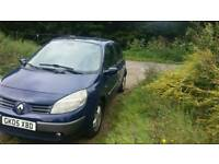 ++++DIESEL RENAULT SCENIC 2005 PLATE+++STARTS AND DRIVES GOOD LONG MOT