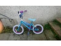 """Girls Frozen Bike 12"""""""