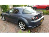 Mazda RX8 1.3L 230BHP, Recently serviced. FSH. 62000 Miles. MOT Till Jan 2017. £1750 ONO