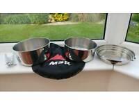 MSR Alpine 2 pot cookset with bag