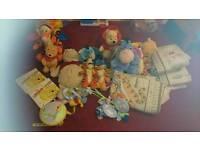 Winnie the pooh nursery set