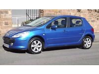 2007 Peugeot 307 1.6 5 Door Hatchback, Long MOT, Great Condition, Must See!