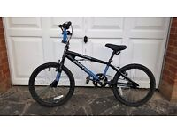 BMX - Silverfox Halfpipe bicycle. Suitable for age 6 upwards