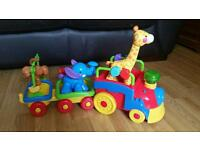 Fisher Price Animal Choo Choo Train Excellent condition