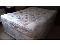Free - king sized divan bed