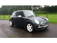2003 mini Cooper green with white roof 73k years mot