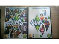 Sims 3 and Sims 3 University Life Expansion Pack