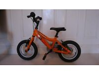 Kids MX12 Terrain Ridgeback Bike 12 inch - Orange *Light weight Aluminium*