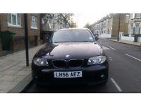 BLACK BMW 1 SERIES FOR SALE