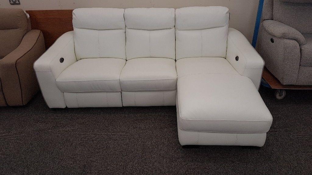 Cressida Star White Leather Electric