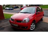 RENAULT CLIO, 12MONTHS MOT, SERVICE HISTORY, CHEAP ON FUEL TAX CD ALLOY 57PLATE BIG BOOT £850 ONO