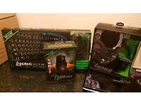 Razor Peripherals (Mouse Keyboard Headset)