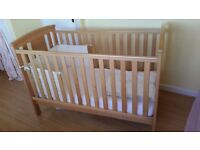 Cot bed. Belfast. Smoke free home. £100.