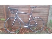 57cm mens treek full carbon road bike good condition good working order bargain