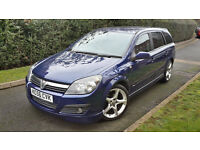 2007 VAUXHALL ASTRA ESTATE SRI 1.7 CDTI XPACK LOW MILEAGE,TIMING BELT DONE!!VERY GOOD COND.