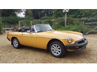 MGB Roadster For Sale, lovely car needs a good new home