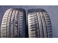 Goodyear eagle F1 Matching pair of 245/35/20