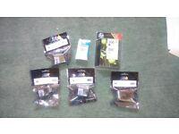 6 various HP 300 & 301 cartridges