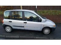 2002 fiat multipla 1.9 jtd low miles drive away for only £200