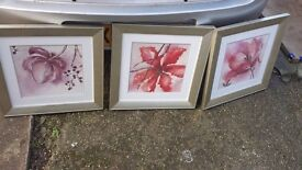 set of 3 pictures good condition only £5.00