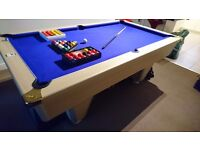 FOR SALE DPT POOL /SNOOKER TABLE BARGAIN! Ideal xmas present fantastic condition!!