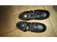 steel toe cap trainers mens size 10