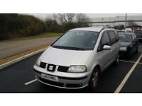 Seat Alhambra 130BHP, 6 Speed Manual Gearbox, FSH, Excellent condition