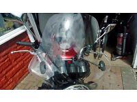 Puig motorbike windscreen