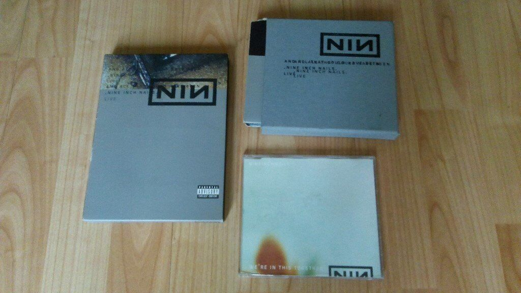 3 x nine inch nails - in this together / and all that could have ...