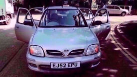 2002 52 NISSAN MICRA AUTOMATIC LOW MILES