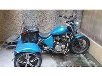 honda 550 night hawk factory built trike. £1800 ono